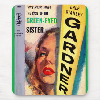 Case of the Green-Eyed Sister cover Mouse Pad