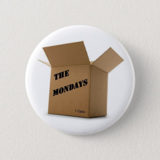 Case of the Mondays 6 Cm Round Badge
