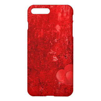 Case Savvy iPhone 7 Plus Matte Case - Red Heart