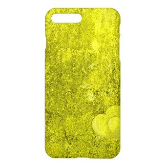 Case Savvy iPhone 7 Plus Matte Case - Yellow Heart