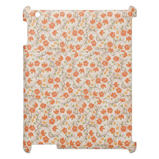 Case Savvy Matte Finish iPad Case FLOWERS