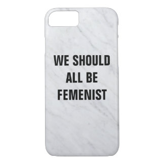 CASE We should all sees feminist
