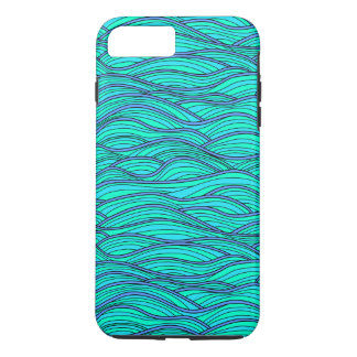 Case with Abstract waves texture.