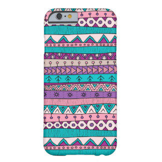 Case with tribal ornament, indian patchwork style