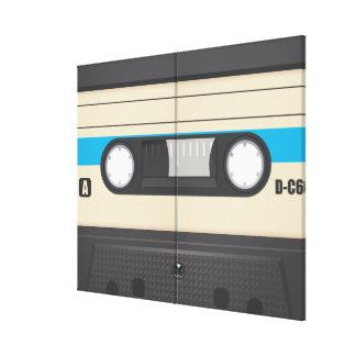 Casette Tape - Purple Canvas Print