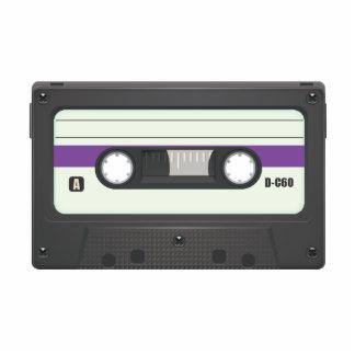Casette Tape - Purple Photo Cut Outs