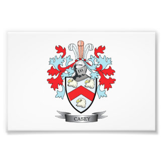 Casey Coat of Arms Photograph
