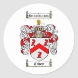 CASEY FAMILY CREST -  CASEY COAT OF ARMS STICKER