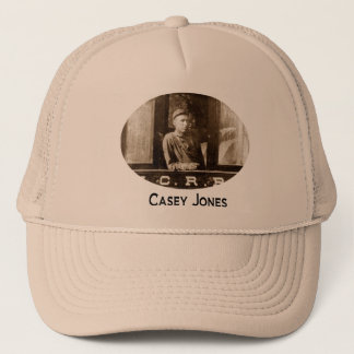 Casey Jones Train Hat