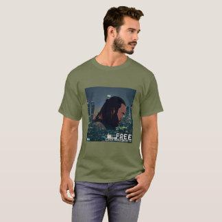"Cash Bradshaw III new single ""Free"" promo T-Shirt"