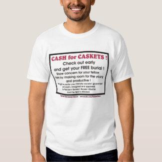 Cash for Caskets Shirts