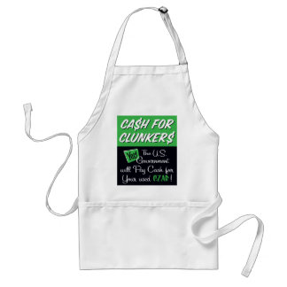 Cash for Clunkers Apron