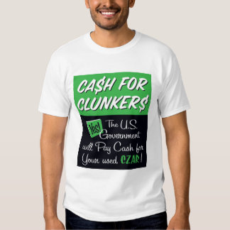 Cash for Clunkers Tshirt