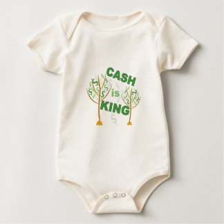 Cash Is King Baby Bodysuit