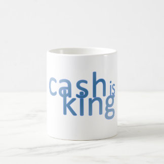 Cash Is King Coffee Mug