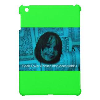 Cash Lover (Plastic Also Acceptable) Money Face iPad Mini Cases