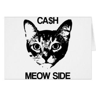 CASH MEOW SIDE CARD