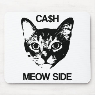 CASH MEOW SIDE MOUSE PAD