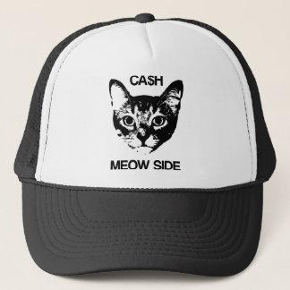 CASH MEOW SIDE TRUCKER HAT