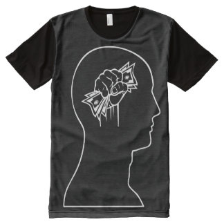 Cash on the Brain All-Over Print T-Shirt