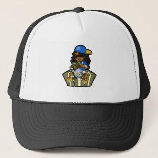 Cash Out Blue Trucker Hat