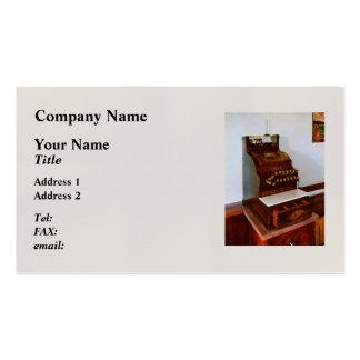 Cash Register Pack Of Standard Business Cards