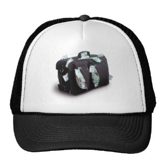 Cash Suitcase Mesh Hats