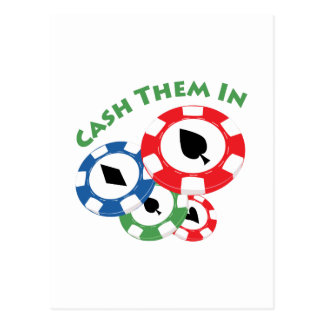 Cash Them In Postcard