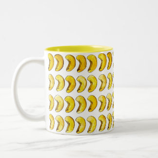 Cashew Nuts Nutty Snack Food Foodie Two-Tone Coffee Mug