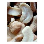 Cashew nuts postcard