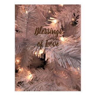 Cashmere Lighted Tree Postcard