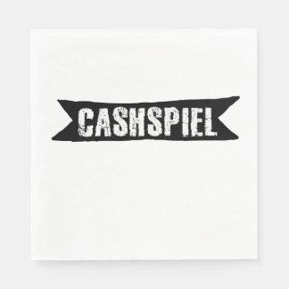 Cashspiel, Curling Tournament Paper Napkins