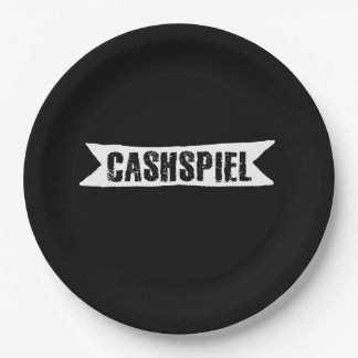 Cashspiel, Curling Tournament Paper Plate