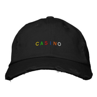 Casino Cap Embroidered Hat