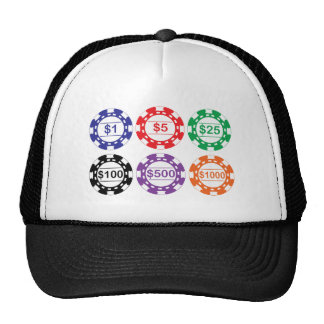 Casino Chips Hat