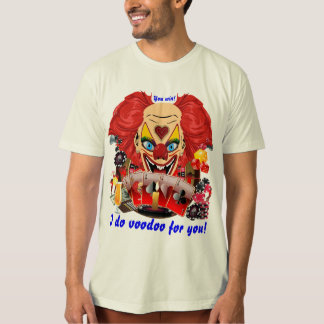 Casino Clown View Notes Please Shirts