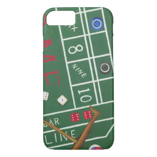 Casino Craps Table with Chips and Dice iPhone 7 Case