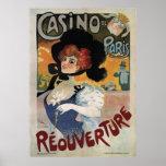 Casino de Paris ~ Reouverture Vintage Poster 1906