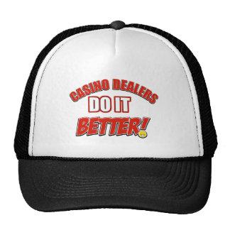 Casino Dealers designs Cap