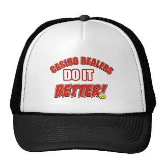 Casino Dealers designs Hats