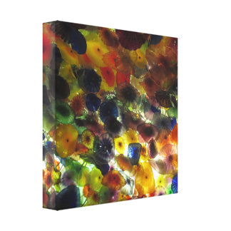 CASINO Deco Las Vegas - Colorful Happy Times Gallery Wrap Canvas