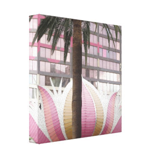 CASINO Deco Las Vegas - Colorful Happy Times Gallery Wrapped Canvas