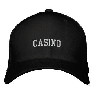 CASINO EMBROIDERED HAT