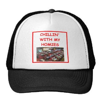 casino gambling mesh hats