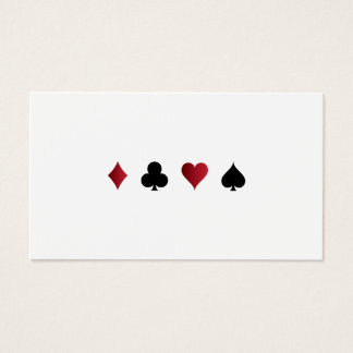 Casino Gaming Business Card