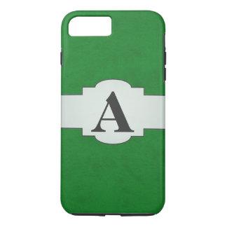 Casino Green Color Velvet Custom Home Casino iPhone 7 Plus Case