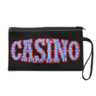 Casino in Red White & Blue Wristlet