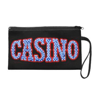 Casino in Red White & Blue Wristlet Purse