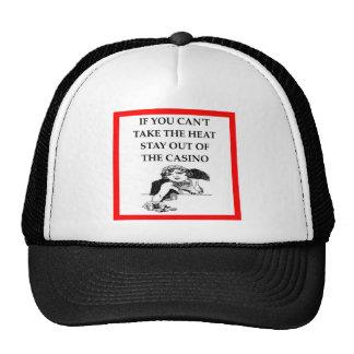 casino joke trucker hat