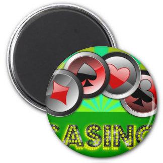 Casino Life Magnet